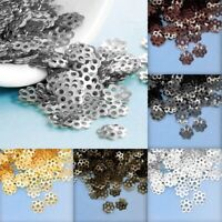 20g Metal Iron Cone Bead End Caps Spacer DIY Jewelry Making Findings 17x12mm YB