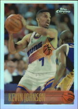 1996-97 Topps Chrome Refractors Phoenix Suns Basketball Card #175 Kevin Johnson