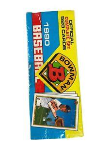 1990 Bowman Baseball Complete Factory Sealed Set 528 Cards Thomas Walker RC