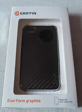 Griffin Elan Form Graphite for iPhone 4 black GB01694 (1st class p+p)