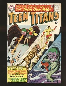 Teen Titans # 1 - Nick Cardy cover Fine+ Cond.