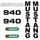 Mustang 960 Decals Stickers Repro Kit Ausa Mustang 960