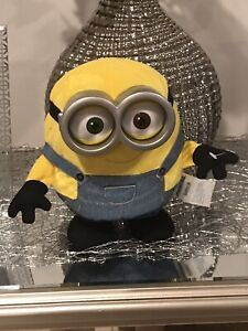 THE MINIONS SINGING AND DANCING BOB INTERACTIVE 21.5 CM TOY