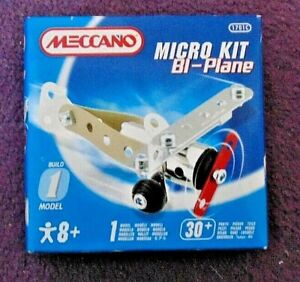 Meccano Micro Kit Bi-Plane