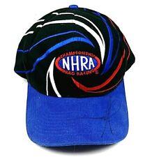 Vintage 1997 NHRA Championship Drag Racing Snap Back Trucker Hat Cap Autographed