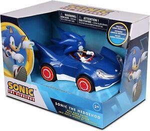 Sonic The Hedgehog Racing Pull Back Vehicle