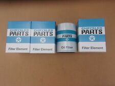 3 PACK 1964-1971 Dodge or Plymouth A-Body Blue and White Mopar Engine Oil Filter