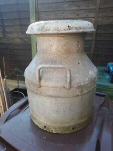 VINTAGE Grundycan Milk Churn 4 Gallon 1965 ALLIMINIUM RARE FIND VGC