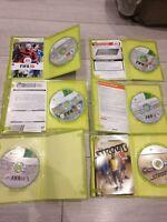 FIFA 10 11 12 13 14 street 2014 Xbox 360 Game Bundle Joblot x 6 games Football