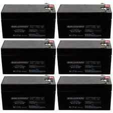 NEW 6pc 12V 1.3Ah SLA Battery EB1213 For UB1213, D5738, WKA12-1.3F FAST USA SHIP