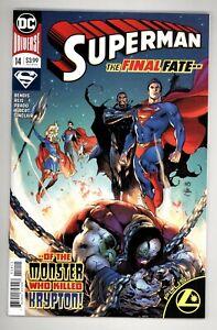 Superman 14 9.6 NM+ DC Comics 2019