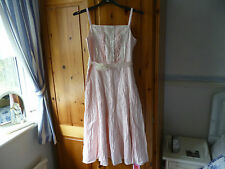 GIRLS M&S SPECIAL OCCASION DRESS AGE 9 YEARS BNWT RRP £25 BEAUTIFUL