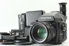 [MINT++] Contax 645 AF Camera + Planar 80mm F/2 + MFB-1A x2 more From Japan #D47