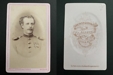 Greiner, Bayreuth, Freiherr Ebner von Eschenbach Vintage albumen carte de visite