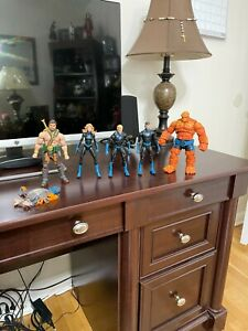 MARVEL LEGENDS LOT OF 5 FIGURES HERCULES AND THE FANTASTIC FOUR