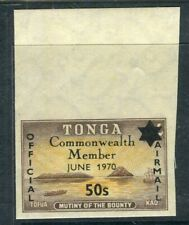 TONGA; 1970 early Entry to CW. Imperf MINT MNH 50s. issue