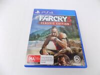 Mint Disc Playstation 4 Ps4 Far Cry 3 Classic Edition III Farcry Free Postage