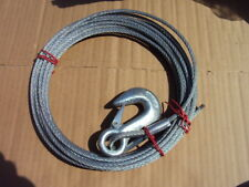 Dayton 1Dlj3 Winch Cable , 25 Ft Galvanized Steel , 840 Lb Capacity