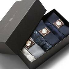 Mens Pretty Green 3 Pack Boxer Shorts Gift Set - A7AMU0487A329 - Navy