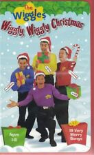 The Wiggles Wiggly Wiggly Christmas VHS, 2000 #2505 19 Very Merry Songs Ages 1-8