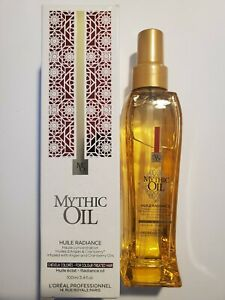 L'OREAL Professionnel Mythic Oil Huile Radiance, 100ml For Color Treated Hair