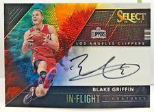 Blake Griffin 2016-17 Panini Select In Flight TIE DYE Prizm Autograph Auto #d/25