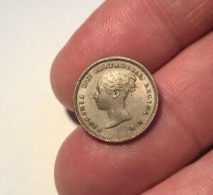 1843 Queen Victoria Half Farthing in Superb High Grade No Reserve