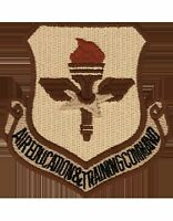 USAF Patch (AF-P04D) Air Education and Training Command Desert without Fastener