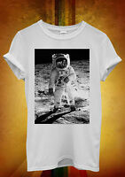 Spaceman Astronaut Cool Funny Men Women Unisex T Shirt Tank Top Vest 1027