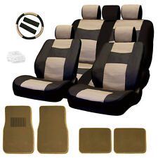 New Semi Custom Leatherette Car Seat Covers Split Seat Mats Set BT For VW