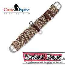"Classic Equine Roller Buckle Mohair Alpaca MIX 30"" Straight Cinch Girth Horse"
