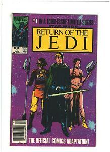 Star Wars Return of the Jedi #1 VF 8.0 Newsstand Marvel Comics 1983 Boba Fett