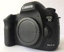 Canon EOS 5D Mark III 22.3MP Digital SLR Camera - Black (Body Only) New Shutter