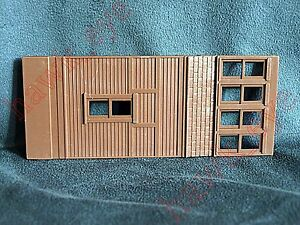 Plasticville Switch Tower Dark Brown Side Piece O-S Scale
