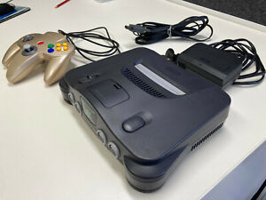 Nintendo 64 console pal - Tested and Working. Includes Av cable and Power supply