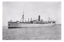MAKARINI Anzac Troopship 1915 as seen here Melbourne modern digital Postcard