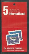 CANADA # 1180b MNH PEARY CARIBOU Booklet