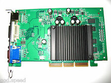 512MB nVIDIA GeForce AGP 4X 8X Dual Monitor Display View Video Graphics VGA Card