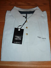 Teddy Smith T-shirt homme S/S Polo T-shirt pinster Pique Mc Baby Bleu Taille M