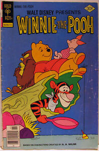 GOLD KEY WINNIE the POOH #4 Nov 1977 VERY GOOD