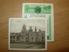MERCHANT TAYLORS SCHOOL SUNRIPE PUBLIC SCHOOLS AND COLLEGES 1923 LARGE CARD No 4