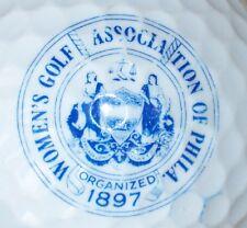 (1) Womens Golf Association Of Philadelphia Logo Golf Ball