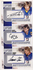 11-12 ITG Garth Butcher Auto Captain C Autograph
