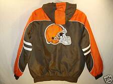 Cleveland Browns NFL Jacket Adult Large & NFL Car Flag   NEW