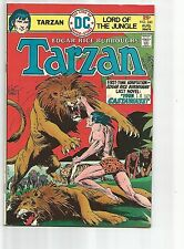 TARZAN #240 VF- VERY FINE- OW/WHITE PAGES BRONZE AGE 1975 DC COMICS