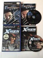 ⚡️⚡️X-Men Legends & Wolverine Revenge Ps2 Playstation Bundle PAL ⚡️⚡️