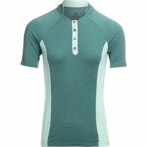 PEARL iZUMi NWT $65 Select Escape Texture Jersey - Women's SMALL - Mist Green