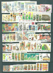 SINGAPORE good used selection of stamps issued between 1990 and 1997