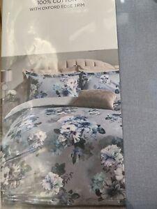 Lipsy Alana Double Duvet Cover Set 210 Thread 100 % Cotton