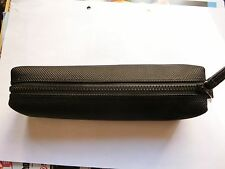 MUJI Japan Pencil case soft case Black color 1 pc Gifts stationery